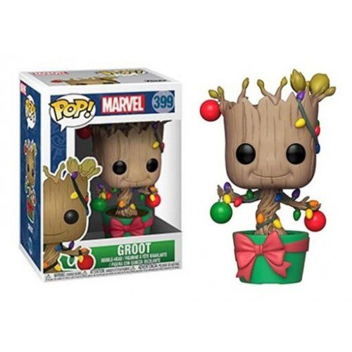 Funko Pop! Groot (with Lights): Marvel Holiday #399 - Funko