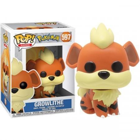 Funko Pop! Growlithe: Pokemon S3 #597 (Game) - Funko