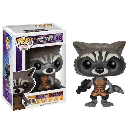 Funko Pop Rocket Raccoon: Guardiões da Galáxia #48 - Funko