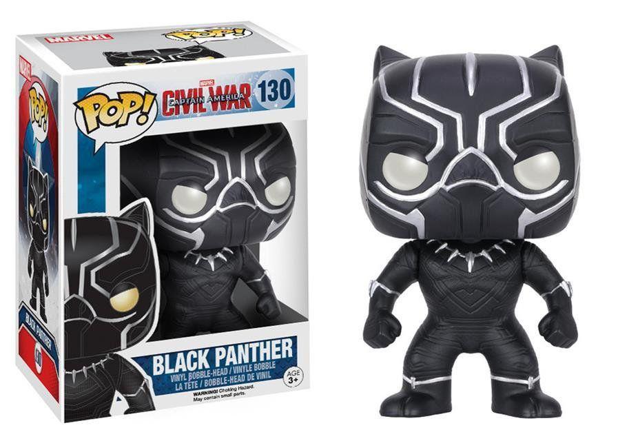 Funko Pop Pantera Negra (Black Panther): Guerra Civil #130 - Funko