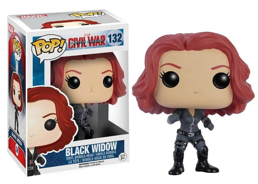 Funko Pop Viúva Negra (Black Widow): Guerra Civil #132 - Funko