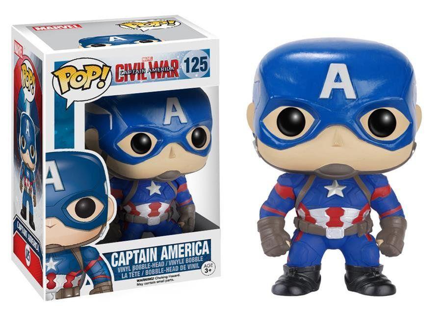 Funko POP! Capitão América: Marvel: Guerra Civil #125 - Funko