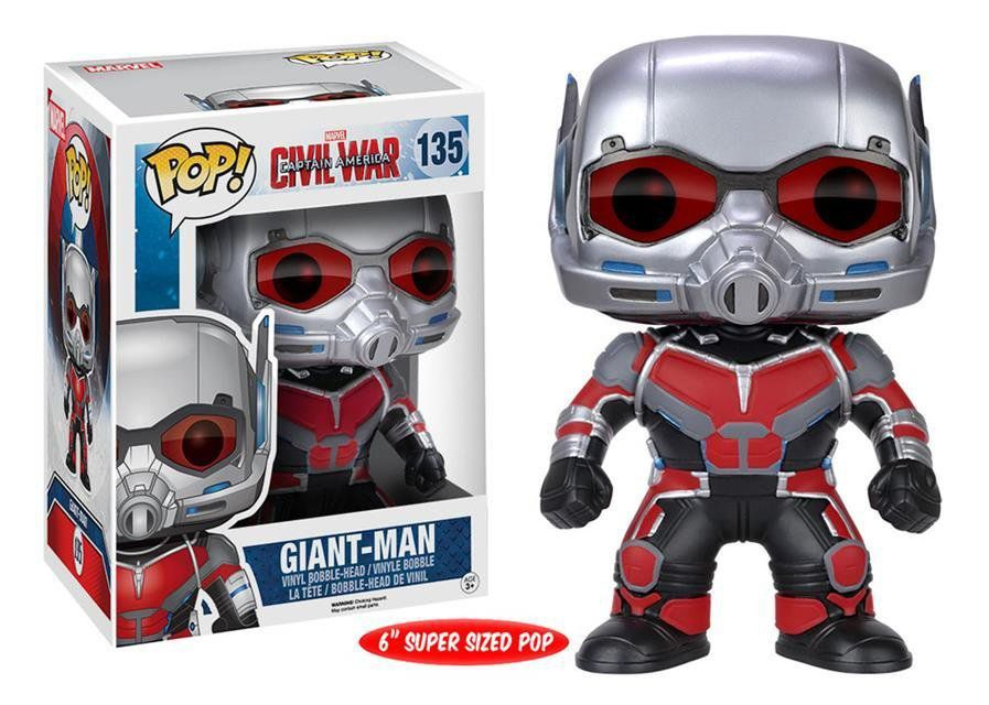 Funko POP! Marvel: Guerra Civil: Giant Man (Homem-Formiga) #135 - Funko
