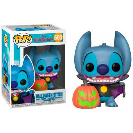 Pop! Halloween Stitch: Lilo & Stitch (Disney) Exclusivo #605 - Funko