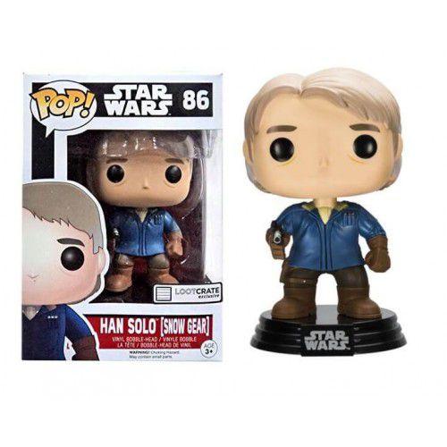 Funko Pop! Han Solo (Snow Gear): Star Wars (Exclusivo) #86 - Funko