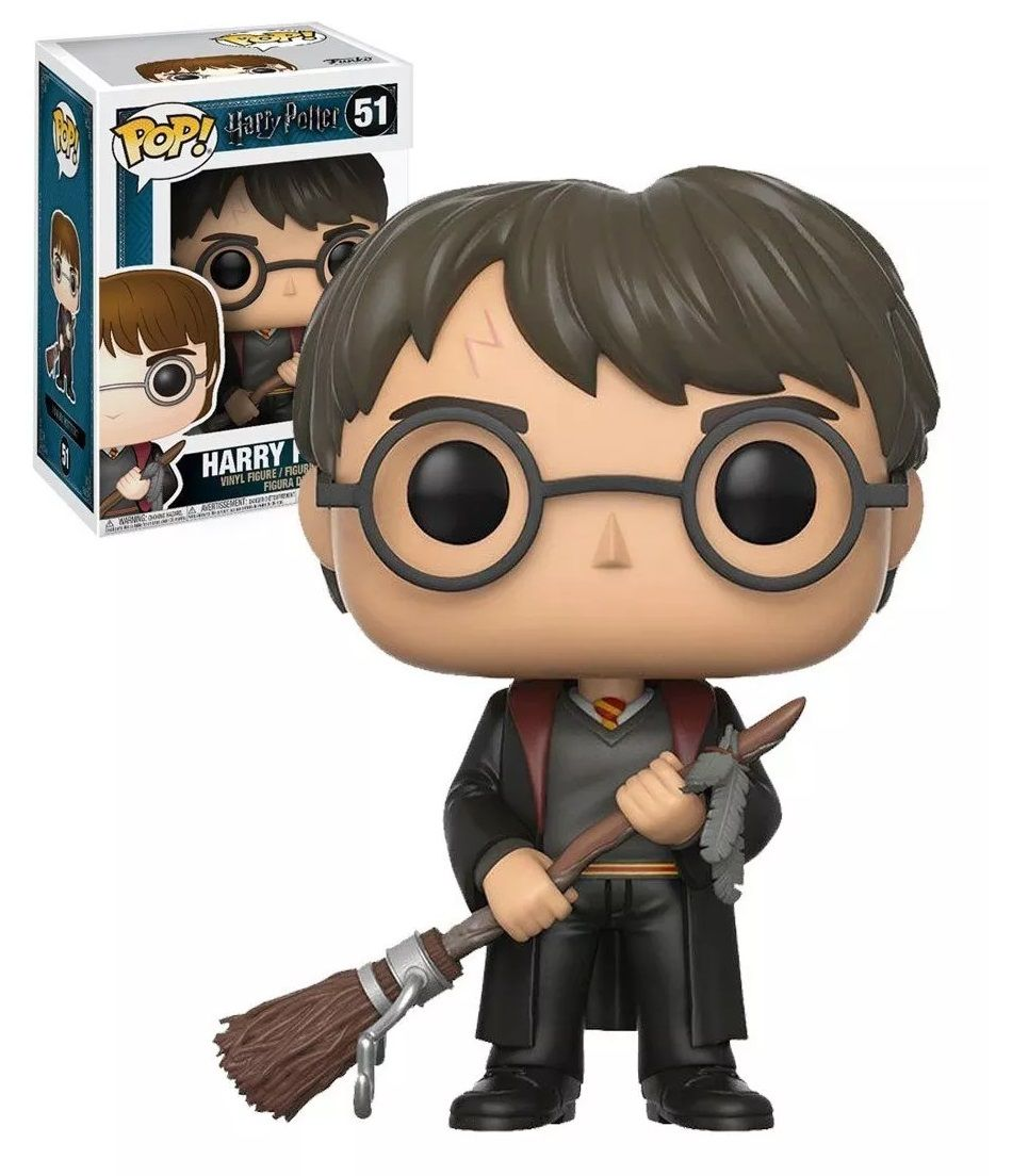Pop! Harry Potter (Firebolt): Harry Potter (Exclusivo) #51 - Funko