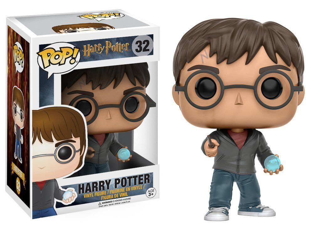 Funko Pop Harry Potter com Profecia: Harry Potter #32 - Funko