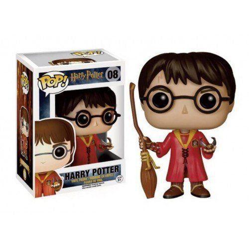 Funko Pop Harry Quidditch (Quadribol): Harry Potter #08 - Funko - EVALI