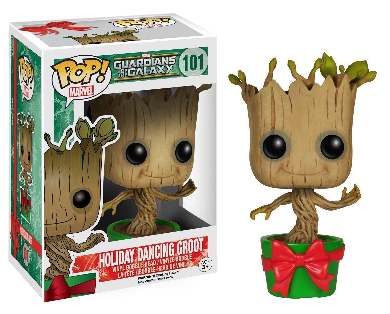 Funko Pop Holiday Dacing Groot : Guardiões da Galáxia #101 - Funko