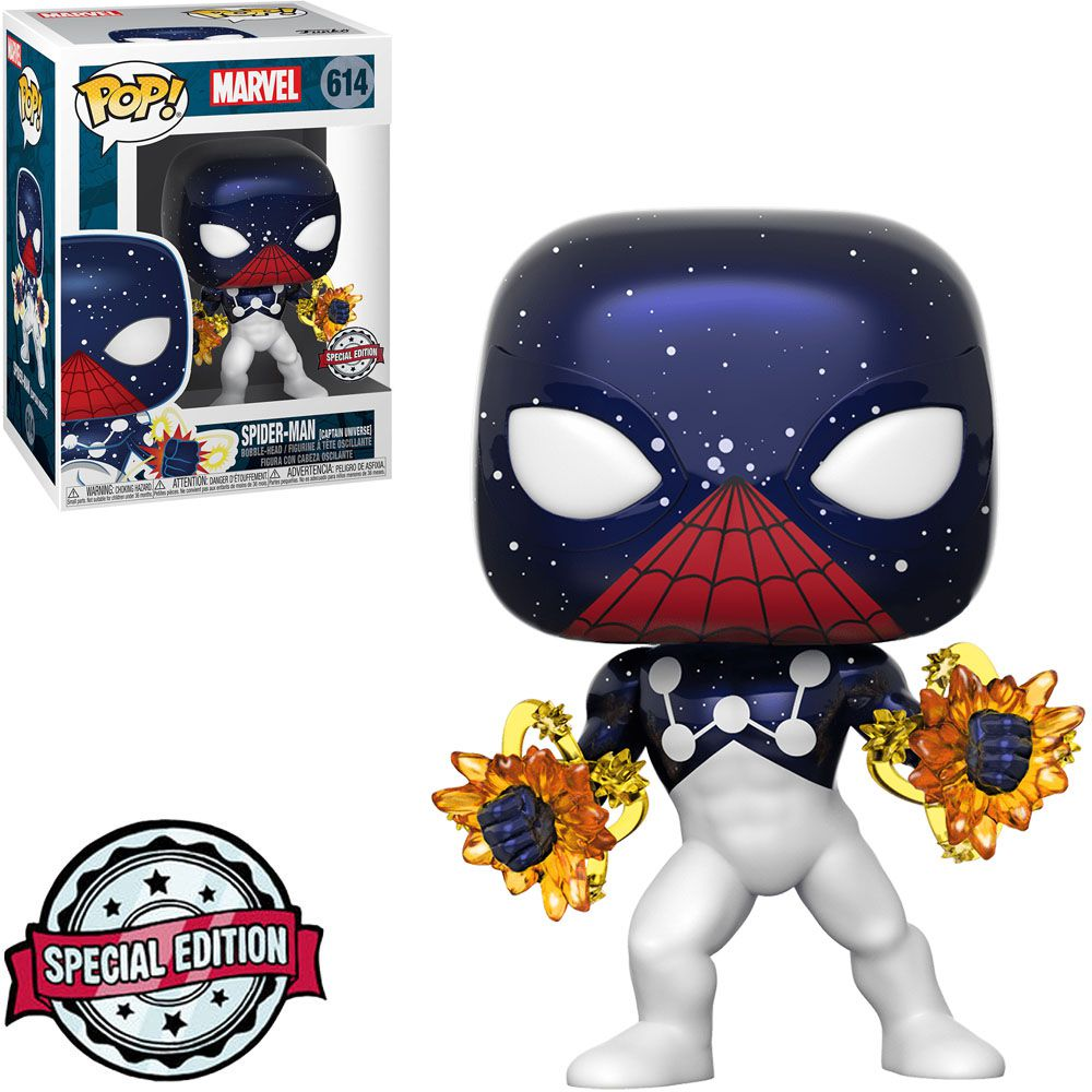 Funko Pop! Homem-Aranha Capitão Universo (Spider-Man Captain Universe): Marvel (Exclusivo) Special Edition #614 - Funko