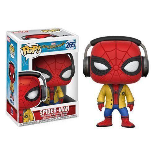 Funko Pop! Homem-Aranha (Spider-Man): Homem-Aranha De Volta ao Lar (Spider-Man Homecoming) #265 - Funko