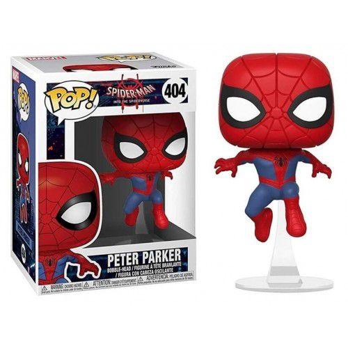 Funko Pop! Peter Parker: Homem Aranha No Aranhaverso (Spider-Man Into the Spider-Verse) #404 - Funko