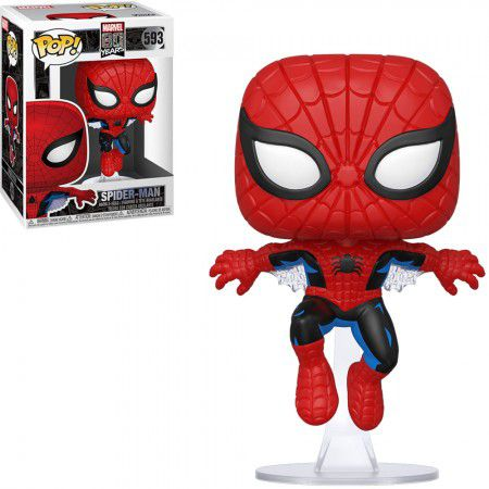 Funko Pop! Homem-Aranha (Spider-Man) Marvel 80 Years #593  - Funko