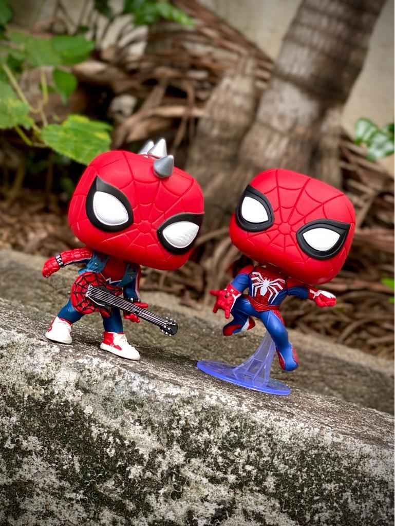 Funko Pop! Homem-Aranha (Spider-Punk): Spider-Man (GamerVerse) Exclusivo #503 - Funko