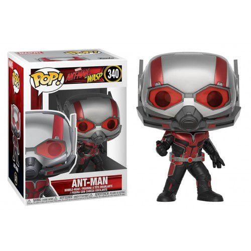 Funko Pop! Homem-Formiga (Ant-Man): Homem-Formiga e a Vespa (Ant-Man and the Wasp) #340 - Funko