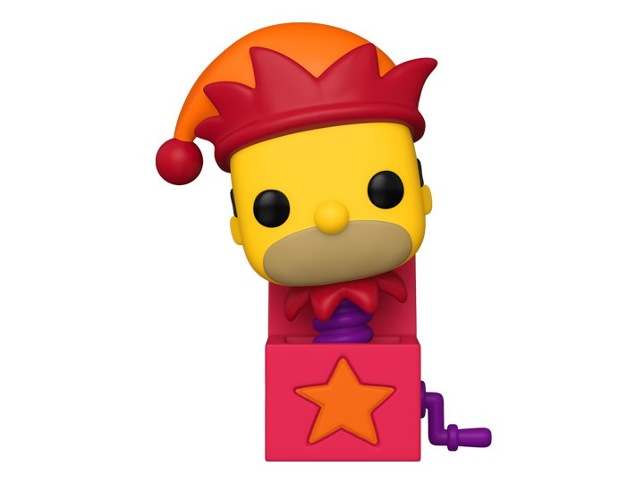Funko Pop! Homer Jack-In-The-Box: The Simpsons Casa de Horror: ( The Simpsons Treehouse of Horror ): The Simpsons #1031- Funko
