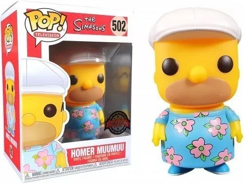 Pop! Homer Muumuu: The Simpsons (Exclusivo) #502 - Funko
