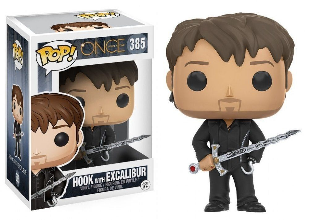 Funko POP! Hook with Excalibur: Once Upon A Time #385 - Funko