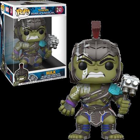 "Pop! Hulk Gladiador (Gladiator) 10"": Thor Ragnarok (Exclusivo) #241 - Funko"