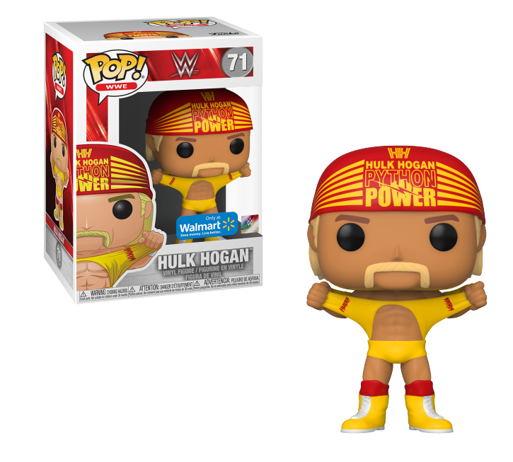 Pop! Hulk Hogan: Wrestlemania 3 (WWE) Exclusive #71 - Funko (Apenas Venda Online)