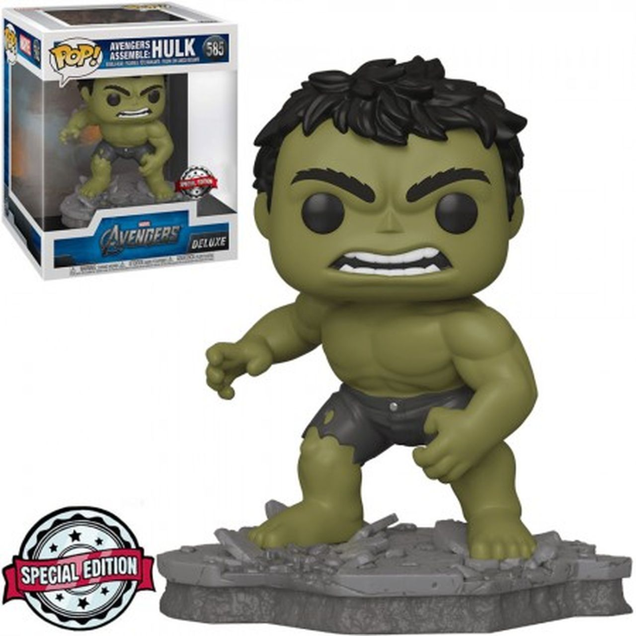 Funko Pop! Hulk: Os Vingadores (The Avengers) Avengers Assemble Series (Exclusivo) #585 - Funko