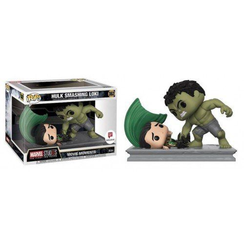 Funko Pop! Hulk Smashing Loki: Marvel Studios The First Ten Years (Movie Moments) Exclusivo #362 - Funko