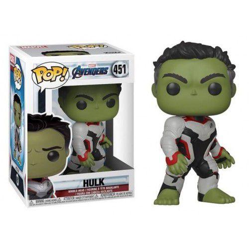 Funko Pop! Hulk: Vingadores Ultimato (Avengers Endgame) #451 - Funko (Apenas Venda Online)