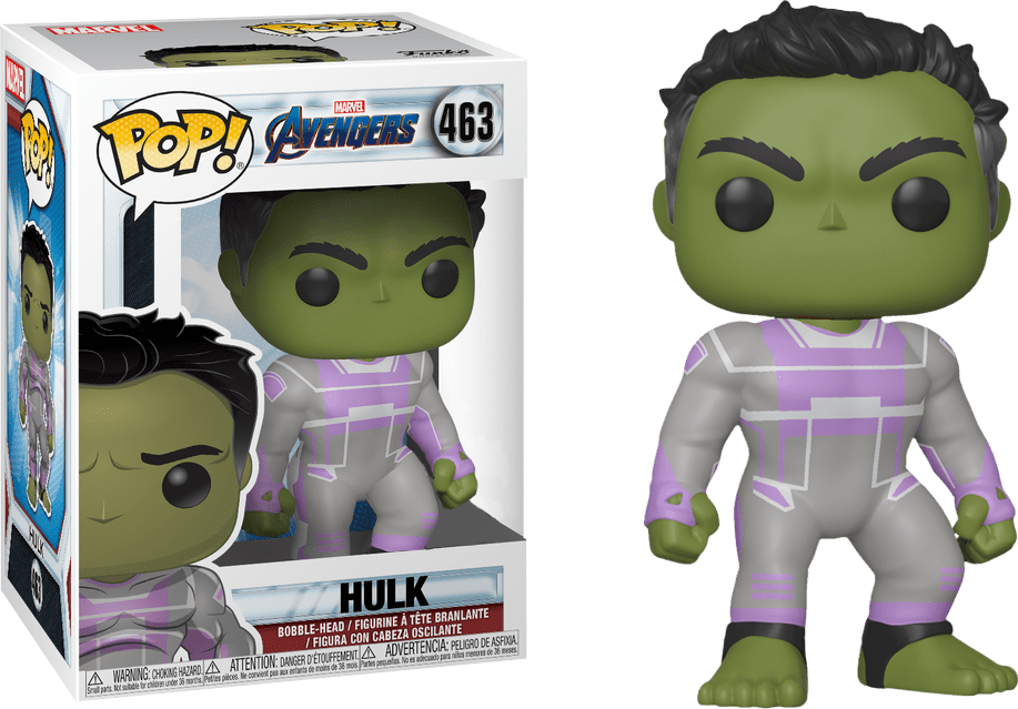 Funko Pop! Hulk: Vingadores Ultimato (Avengers Endgame) Exclusivo #463 - Funko