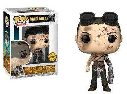 Pop Imperatriz Furiosa (Chase): Mad Max: Estrada da Fúria (Fury Road) #507 - Funko
