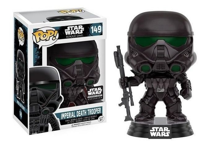 Pop! Imperial Death Trooper: Star Wars Rogue One (Exclusivo) #149 - Funko