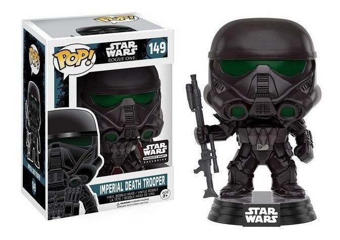Funko Pop! Imperial Death Trooper: Star Wars Rogue One (Exclusivo) #149 - Funko