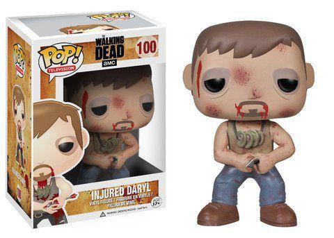 Funko Pop Injured Daryl (Ferido): The Walking Dead #100 - Funko
