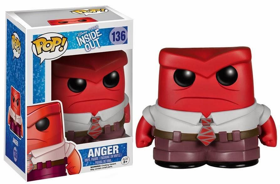 Funko Pop Raiva (Anger): Disney / Pixar: Inside Out  #136 - Funko