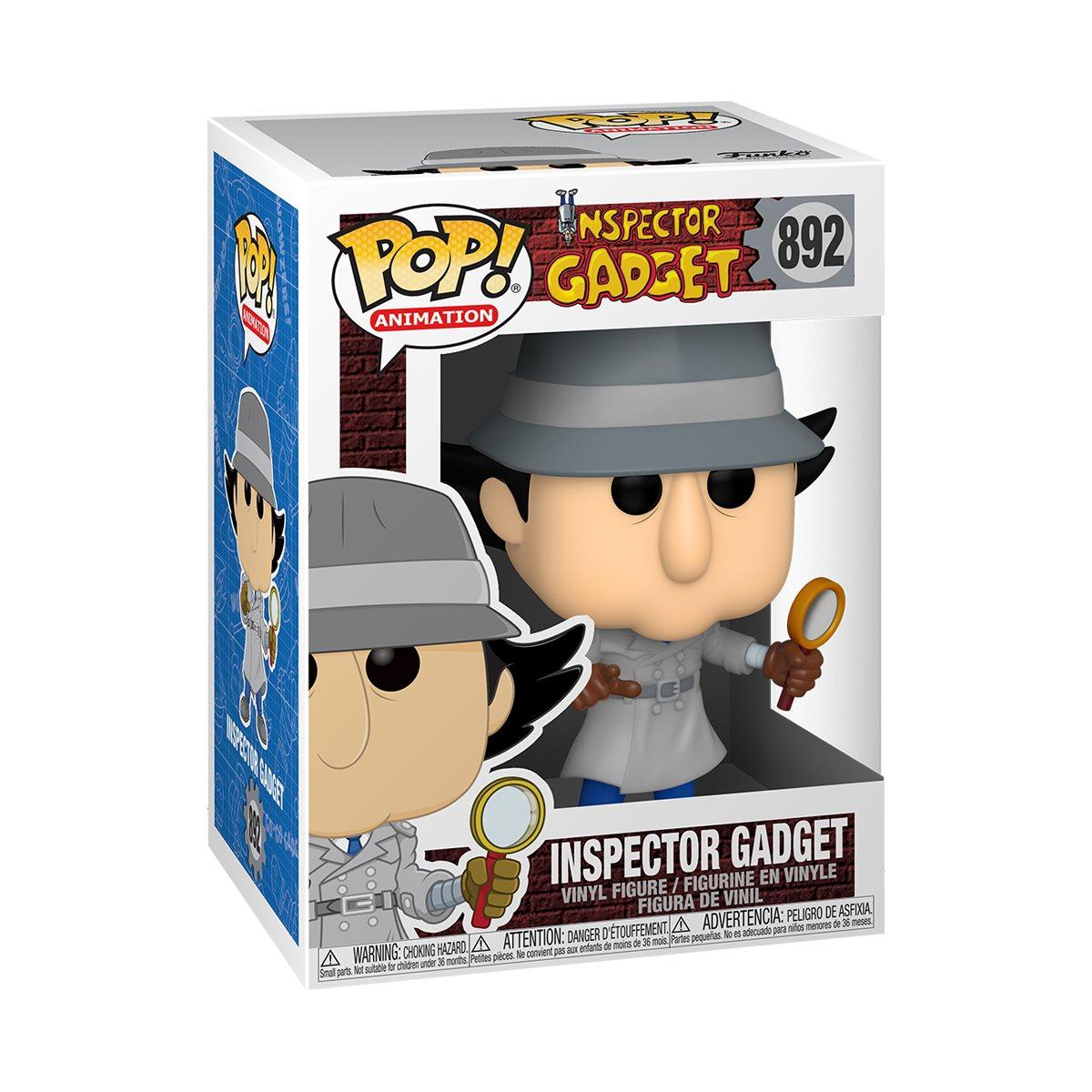 PRÉ VENDA: Funko Pop! Inspetor Bugiganga (Inspetor Gadget): Inspetor Gadget #892 - Funko
