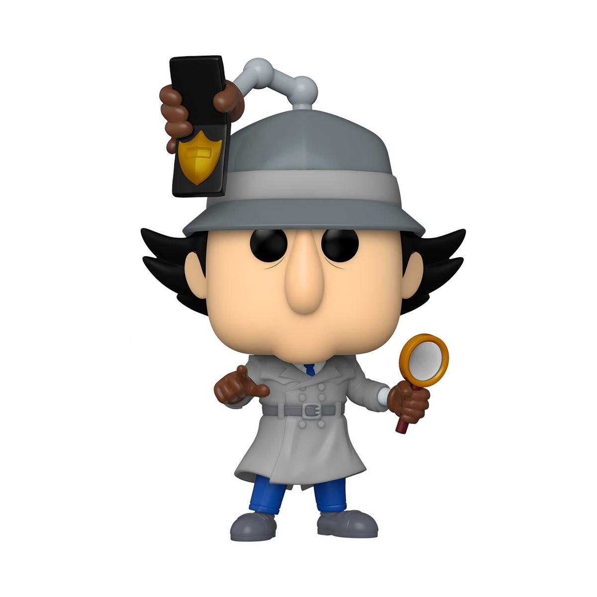 PRÉ VENDA: Funko Pop! Inspetor Bugiganga (Inspetor Gadget): Inspetor Gadget (Chese) Edição Limitada #892 - Funko