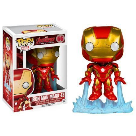 Funko Pop Homem de Ferro (Iron Man): Vingadores: Era de Ultron #66 - Funko