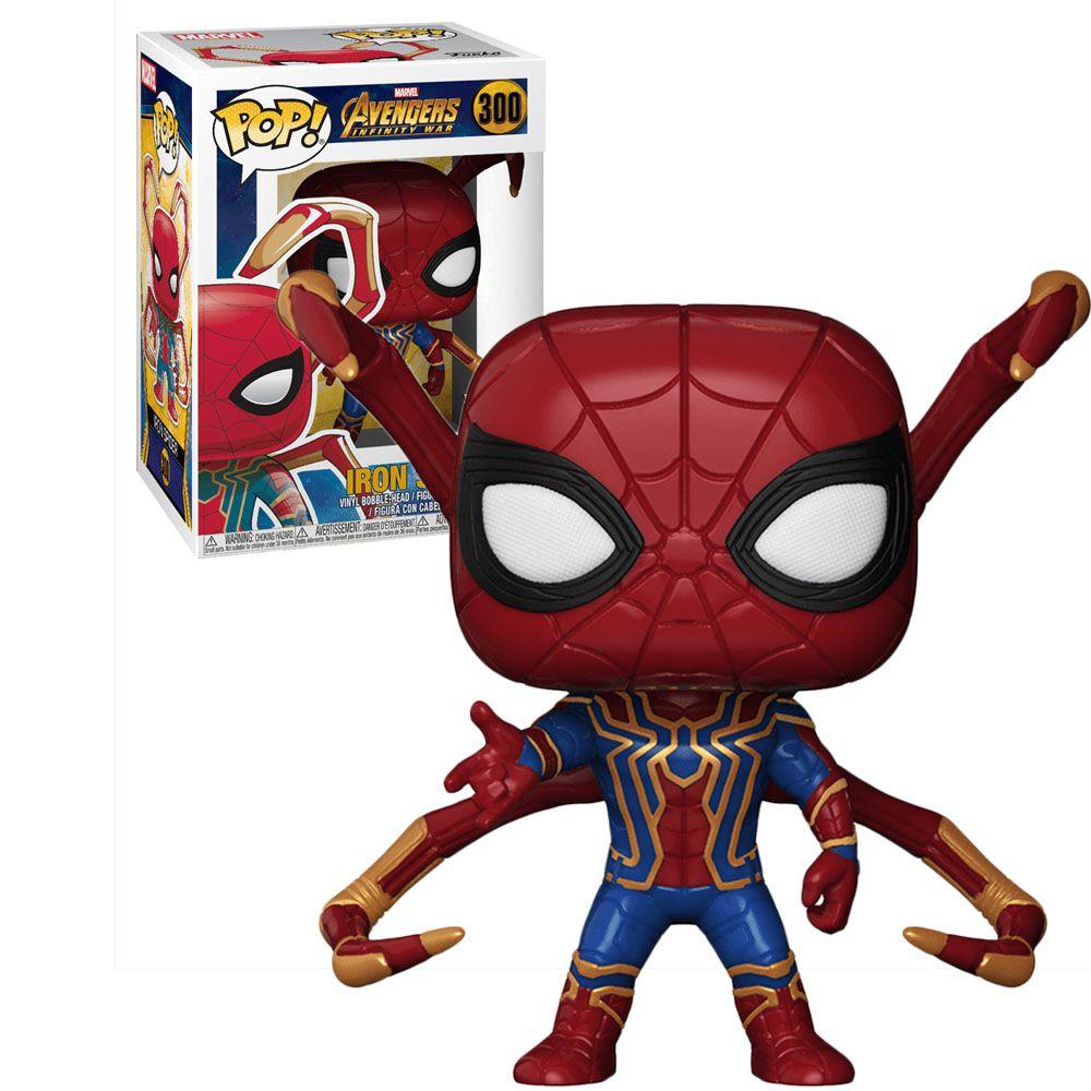 Pop! Iron Spider (Spider Legs): Vingadores Guerra Infinita (Avengers Infinity War) (Exclusivo) #300 - Funko