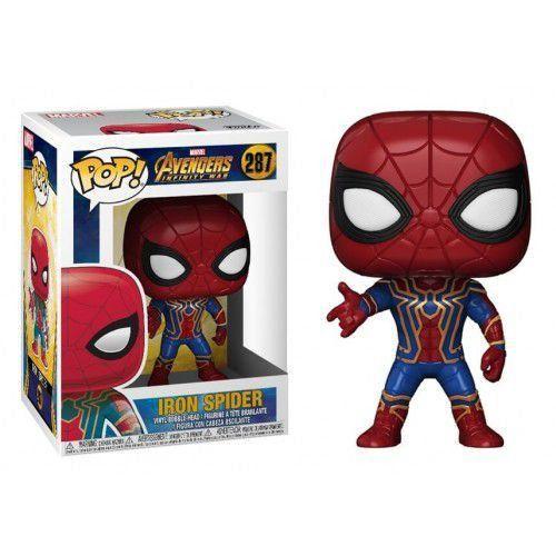 Funko Pop! Iron Spider: Vingadores Guerra Infinita (Avengers Infinity War) #287 - Funko