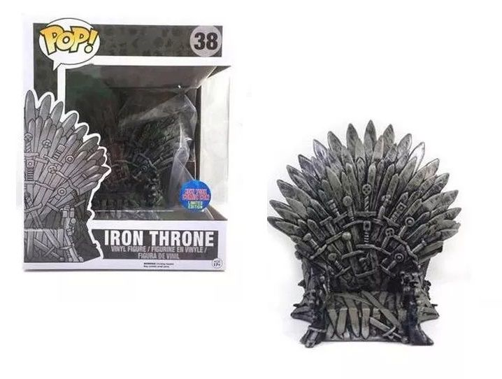 Pop! Iron Throne (Trono de Ferro): Game Of Thrones #38 (Exclusivo) - Funko