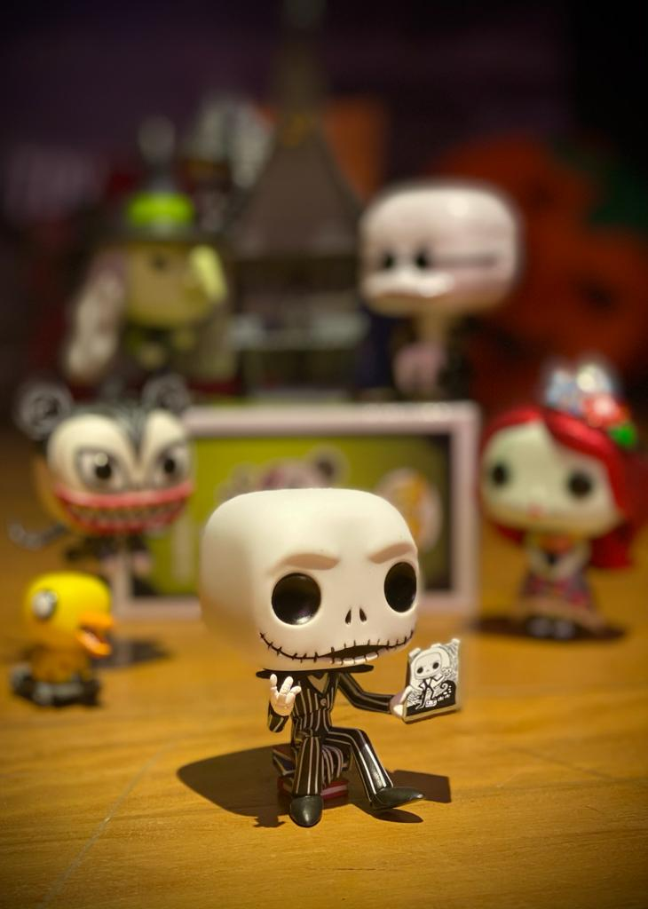 Funko Pop! Jack Skellington & Jack's House: O Estranho Mundo de Jack (Nightmare Before Christmas) Exclusivo #07 - Funko
