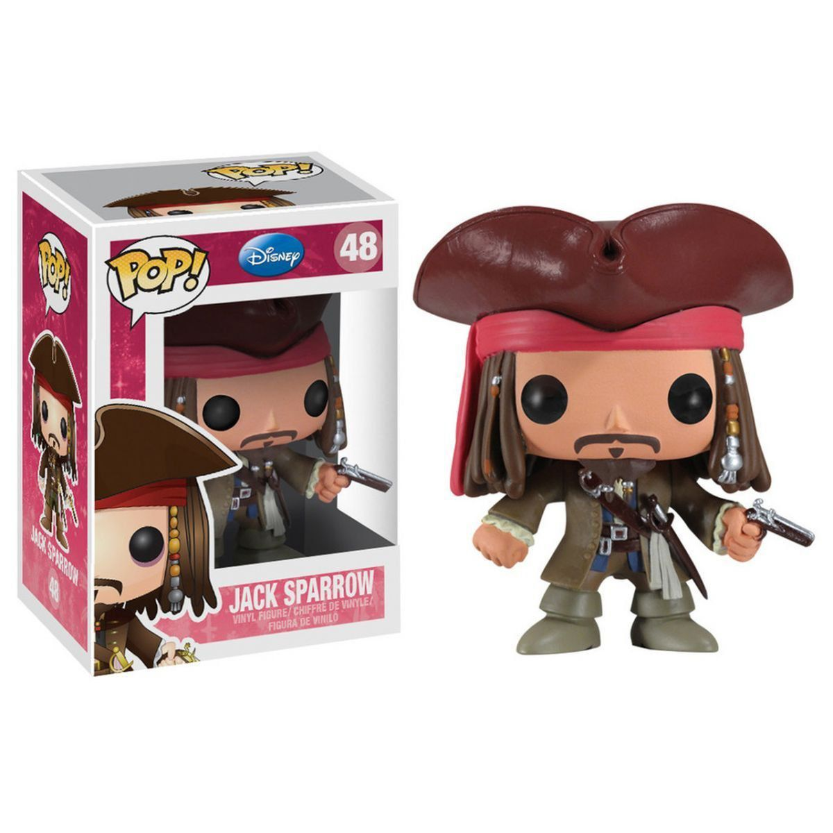 Funko Pop Jack Sparrow: Disney Piratas do Caribe #48 - Funko