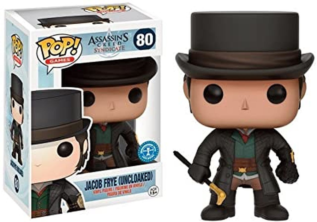 Pop! Jacob Frye (Uncloaked): Assassin's Creed Syndicate (Exclusivo) #80 - Funko