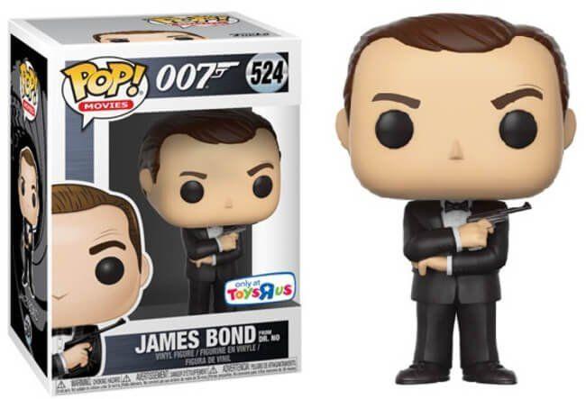 Funko Pop James Bond (Dr No): 007 James Bond #524 (Exclusivo)- Funko