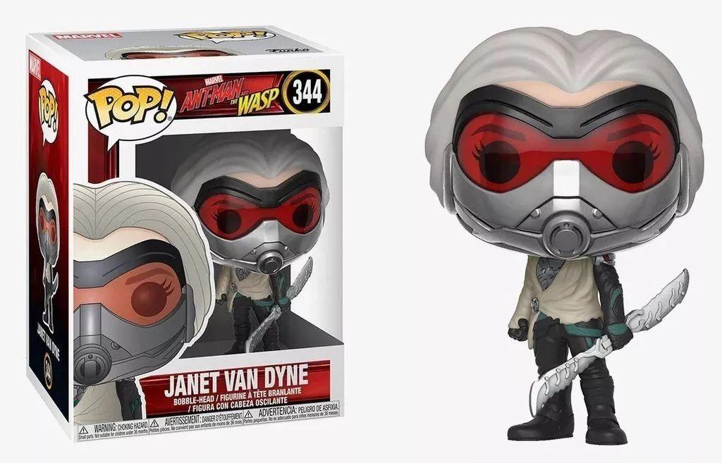 Funko Pop! Janet Van Dyne: Homem Formiga e a Vespa (Ant-Man & The Wasp) #344 - Funko (Apenas Venda Online)