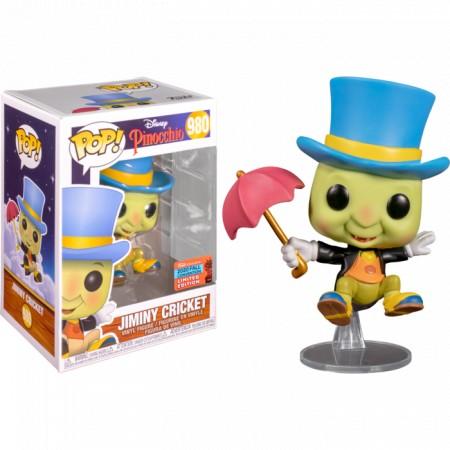 Funko Pop! Jiminy Cricket: Pinocchio Disney #980 (Exclusivo Primavera 2020) - Funko