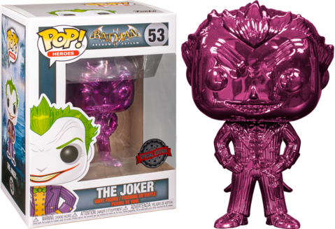 Funko Pop Joker: Batman Arkham Asylum (Exclusivo)  #53 - Funko