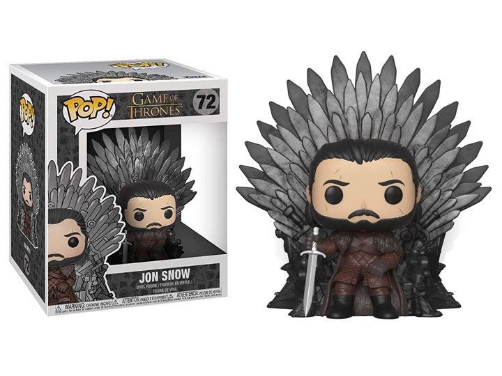 Pop! Jon Snow (on Iron Throne): Game of Thrones #72 - Funko