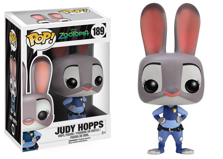 Pop Judy Hopps: Disney Zootopia #189 - Funko