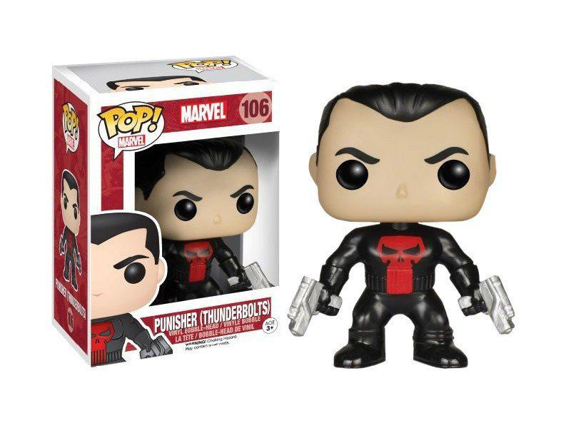 Funko Pop Justiceiro (Punisher: Thunderbolts): Marvel #106 - Funko