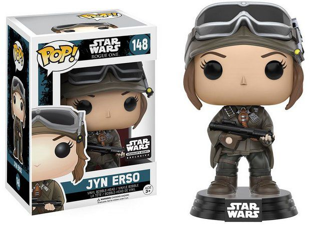 Pop! Jyn Erso: Star Wars Rogue One (Exclusivo) #148- Funko